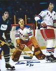 Autographed 8x10 Gilles Villemure New York Rangers 8x10 Photo - w/ COA