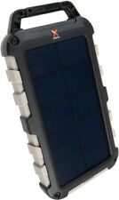 Xtorm Solar Charger 10 000 Robust, Solar Powerbank + LED-Taschenlampe BRANDNEU