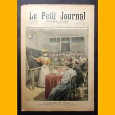 LE PETIT JOURNAL Suppl. illustré TONKIN Les examens des lettrés 28 juillet 1895