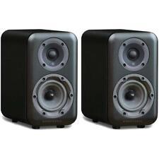 Wharfedale D310 2-Wege Regal Lautsprecher schwarz shelf speaker Black Wood PAAR
