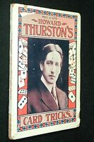 HOWARD THURSTON'S CARD TRICKS 1903 First Edition - by Howard Thurston