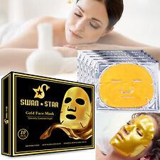 10pcs био-коллаген женская маска для лица против морщин старение кожи увлажняющий