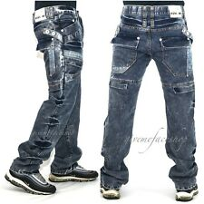 True Peviani acid g jeans, combat/cargo hip hop urban g denim, star bleach mens