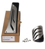 ORIGINAL BMW M Performance Pedal Pad Set Pedal Pads STAINLESS STEEL 35002232278