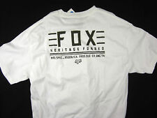 Fox Racing Co. Moto-X FMX regular fit men's T-shirt white size XL