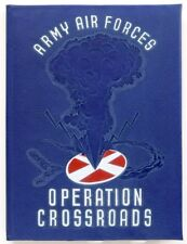"OPERATION CROSSROADS 1946 ""FOTOMICS""-Task Unit 1.52 Bikini Atoll  Nuclear Test"