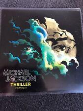 "MICHAEL JACKSON ""THRILLER"" RARE 5 X REMIX CD PROMO"
