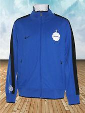 New Nike INTER MILAN Football Club N98 Transit Line Up JACKET Azure Blue M