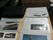 1999 Mercedes E300 Turbo Diesel / E320 / E430 / E55 AMG   Owners Manual set case