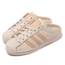 Adidas Originals Superstar мул W слоновая кость розовый женский повседневный туфли без задника G58357