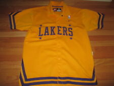 dc9f4840d87 Nike LOS ANGELES LAKERS Embroidered Button-Down (MED) Warm-Up Jacket