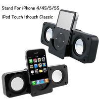 Portable Folding Stereo Speaker MP3 Player For Cellphone Home Office Travel