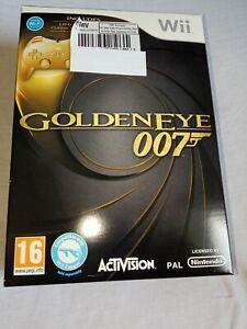 Nintendo Wii Game Bundle - Limited Edition GoldenEye 007 + Gold Pro Controller