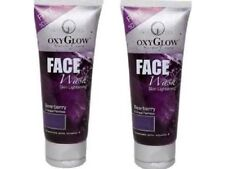 Oxyglow Bearberry and Grape Face wash, 100 ml x 2 pack  Free shipping world