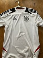 GERMANY SOCCER JERSEY ADIDAS DEUTSCHER FUSSBALL-BUND Size Men's Small S.
