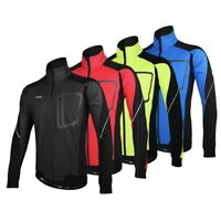 Windproof Cycling Jacket Winter Warm Thermal Cycling Jacket Bicycle Clothing