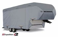 S2 Expedition Premium 5th Fifth Wheel /Toy Hauler RV Cover fits 39'-40' LG- Gray