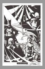 SIGNED George Perez BatmanDC Comics Super Hero Art Print ~ Nightwing Origin