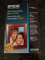 "Epson Ultra Premium Glossy Photo Paper (4x6""), 100 Sheets #S042174"