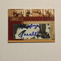 2010 Classics Classics Cuts Dante Lavelle Auto #27/100 Cut Signature on Card