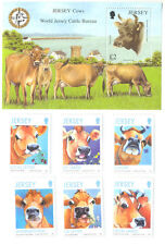 Jersey Cows set and min sheet mnh