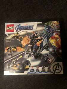 Lego 76143 Super Heroes Avengers Truck Take Down Building Set