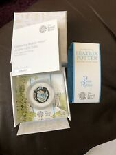 2020 Peter Rabbit Silver Proof 50p Coin Last Ever Produced !!! Low Issue 14,500