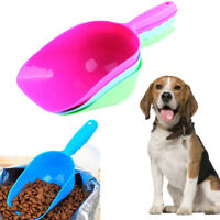 Pet Cat Dog Puppy Food Scooper Spoon Scoop Shovel Feeding Seed Interest