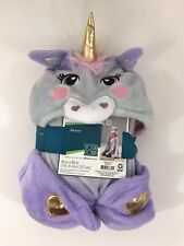 """Hooded Unicorn Horse Throw Blanket 40"""" x 50"""" Pastel Colors Easter Your Zone"""