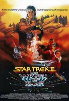 Star Trek II: The Wrath Of Khan Movie Poster Print - 1982 - Sci-Fi - 1 Sheet Art