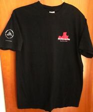 ROCK & ROLL HALL OF FAME inductees tee Cleveland Ohio T shirt med 1986-2004