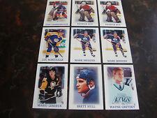1988-89 O-Pee-Chee Hockey---Mini's---Lot Of 9---Dupes---See List---NrMt