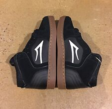 Lakai Telford LK Size 5 US Black Gum Suede SB BMX DC Skate Shoes Deadstock