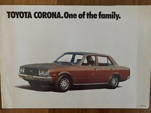 Toyota Corona Sedan Wagon  Sales  Brochure Specifications Etc Rare