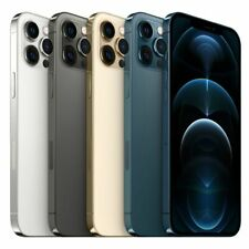 Apple iPhone 12 Pro Max Blue Gold Silver Black 128GB Universal Factory Unlocked