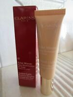 CLARINS ECLAT MINUTE INSTANT LIGHT COMPLEXION BASE # 02 CHAMPAGNE 1 OZ BOXED