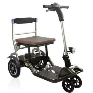 Mobility Scooter 4 Wheel 19 Kg Flight Friendly Lightweight Fits In A Car Boot