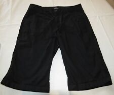 St. Johns Bay  Bermuda black shorts 6P 6 P Petite womens juniors GUC