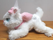 """Disney Exclusive  - 12"""" Aristocats Marie - Soft White Kitten Cat / Pink Bow"""