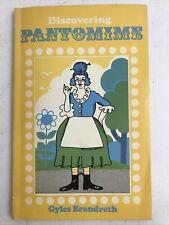 Discovering Pantomime - Gyles Brandreth - 1st Ed. - 1973 - Vintage Paperback