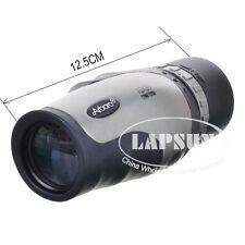 10X 30mm Monocular Telescope for Bird Watching Camping Hiking W/ Carrying Case S