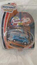 NEW MATCHBOX MY CLASSIC CAR 1962 VOLKSWAGEN BEETLE 2003 BLUE (M-3)