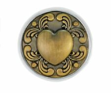 "Ginger Snapsâ""¢ Brass Tattoo Heart Jewelry Buy 4, Get 5Th $6.95 Snap Free"