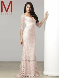 Mac Duggan Lace Evening Dress 1100$  SIZE 12