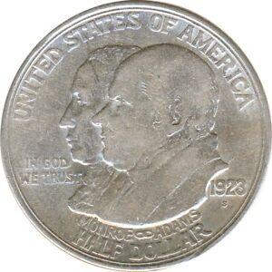 USA Half Dollar 1923 S Monroe Doktrin Silber*