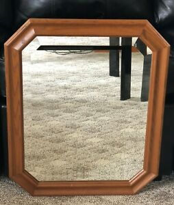 """The Uttermost Company Wooden Mirror - 23"""" x 19"""" Mirror - Wood Finish"""