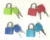 4 X 23mm Mini Small Padlock Home Door Travel Suitcase Luggage Bag Lock Padlocks
