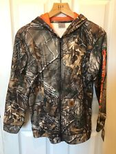 NEW Carhartt Real Tree Camo Zip Up Hoodie CP8493 Youth/Teenager SIZE L 14/16