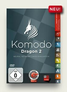 Chessbase Komodo Dragon2 DVD NEU