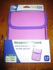 NIB LeapFrog LeapPad Explorer Neoprene Sleeve - LILAC WITH PURPLE TRIM